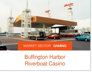 Buffington Harbor Riverboat Casino Sprung structure