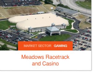 Meadows Racetrack and Casino Sprung Tent