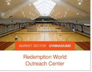 Redemption World Imagine Sports and Fitness Sprung Structure