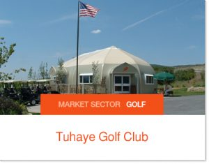 Tuhaye Golf Club house Sprung Building