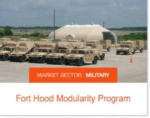 Fort Hood Modularity Program Sprung buildings