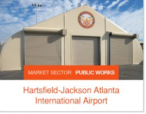 Hartsfield Jackson Atlanta International Airport Sprung buildings