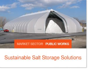 Sastainable Salt StorageSolutions Sprung buildings