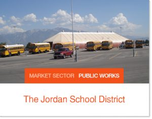 The Jordan School District Sprung buildings