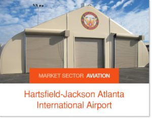 Hartsfield-Jackson Atlanta International Airport t Sprung Buildings