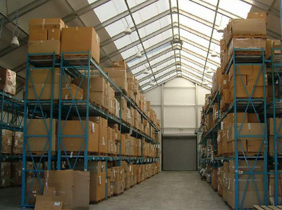 Sprung Industrial Buildings warehousing - tensile structures