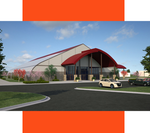 New Life Church Rendering