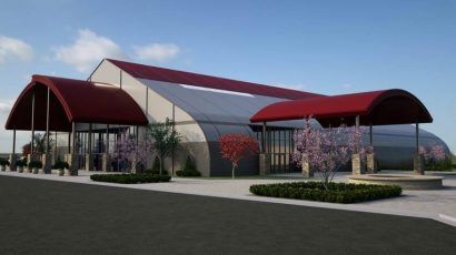 New Life Christian Center Sprung Church Tensioned Membrane Structure