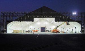 drone hangar - sprung buildings