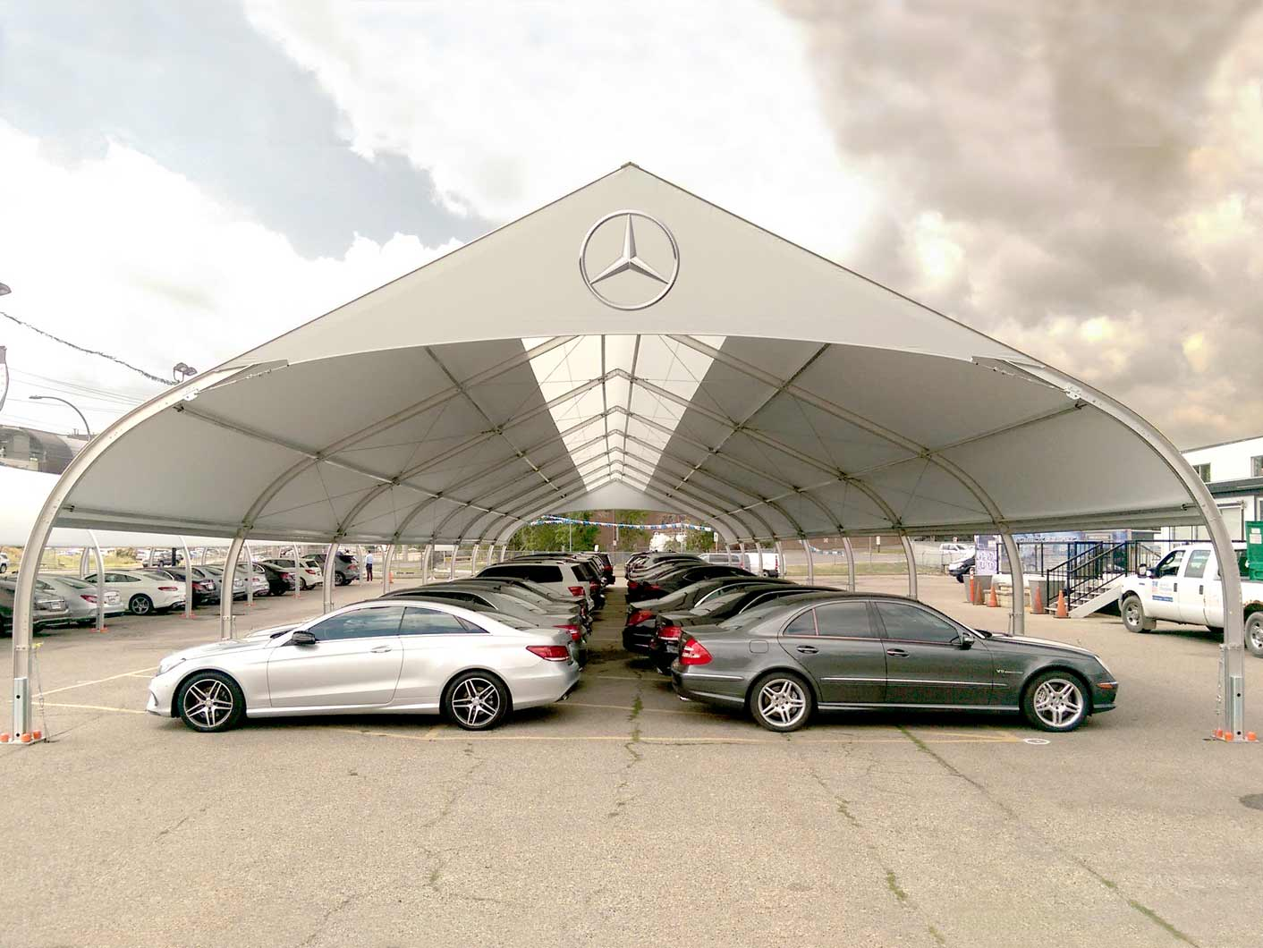 Hail Protection Car Cover >> Mercedes-Benz Express Series Vehicle Protection - Sprung Structures