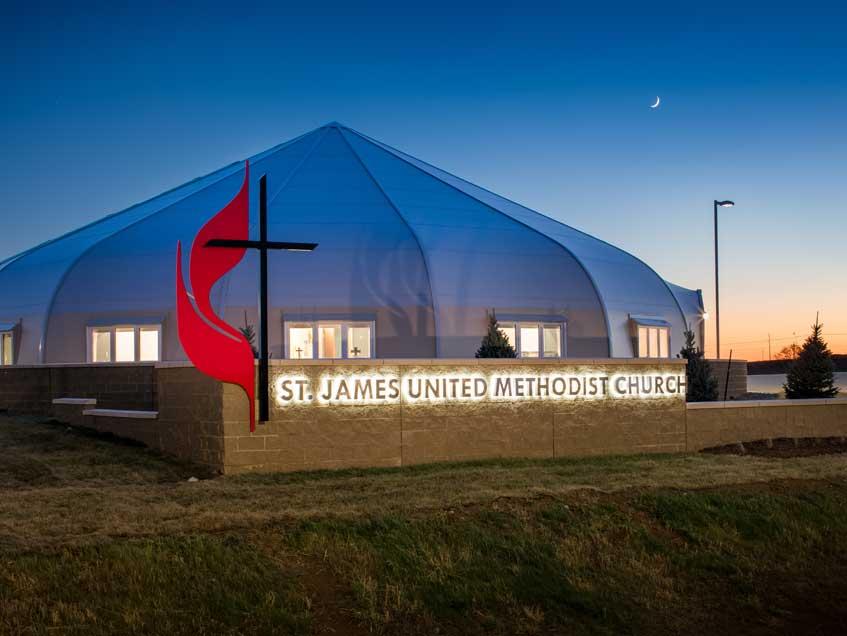 St James United Methodist Church - Sprung Structures