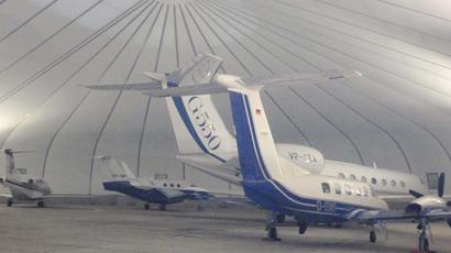 Sprung Hangar prefab buildings