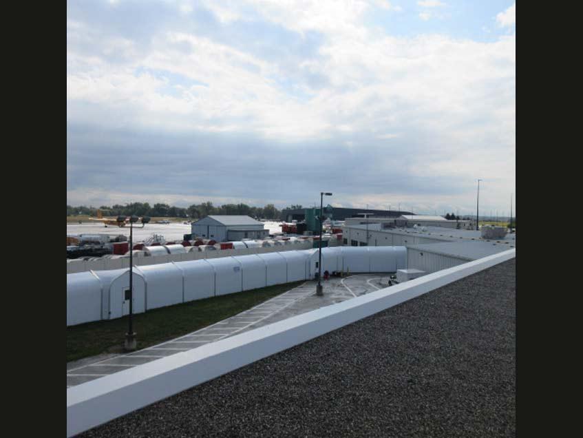 John C. Munro Hamilton International Airport International Passenger Corridor - Sprung Structure