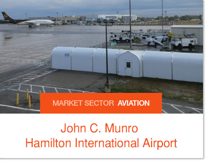 John C. Munro Hamilton International Airport International Passenger Corridor - Sprung Structure