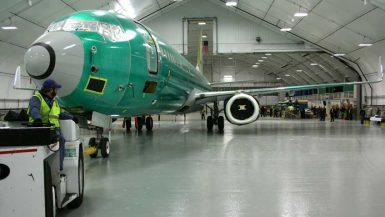 Sprung Aircraft Hangar Expansion