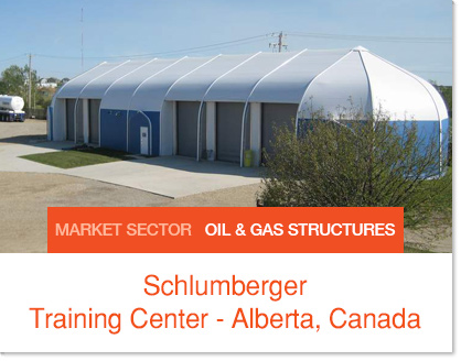 Schlumberger Alberta Training Center - Sprung Structure