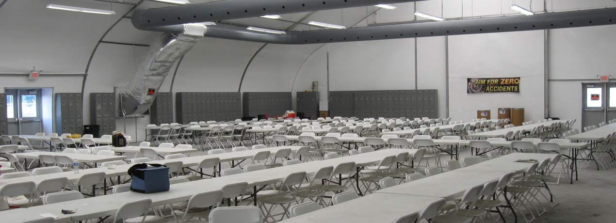 Lunchrooms And Safety Meeting Facilities Sprung Structures