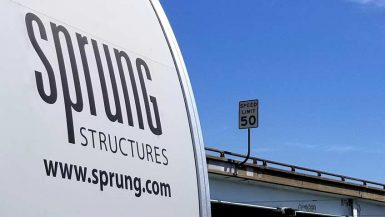 Sprung Homeless Navigation Centers - portable building