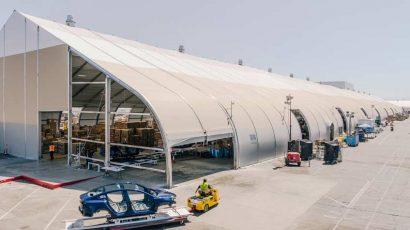 Tesla Tent - Sprung Structures