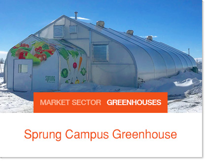 Sprung Greenhouse