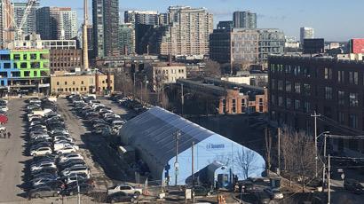 Sprung Structure - Toronto Respite Centre