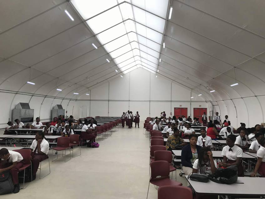 US Virgin Island Board of Education Gymnasiums