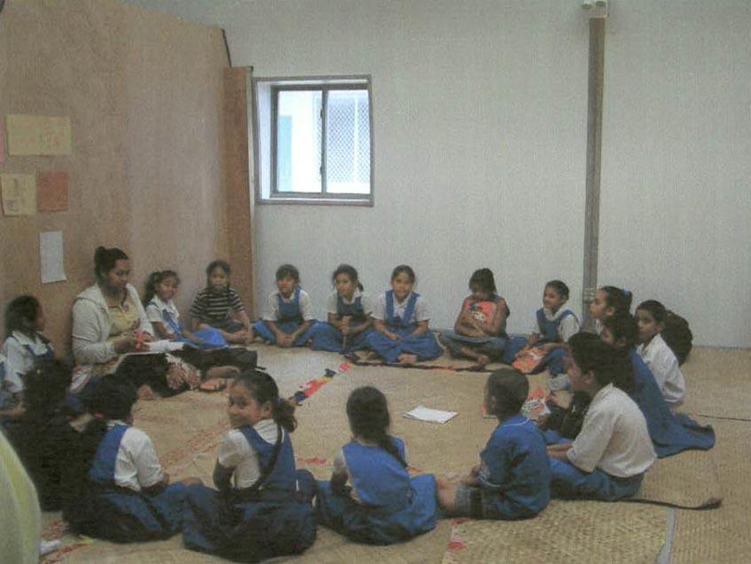America Samoa classrooms