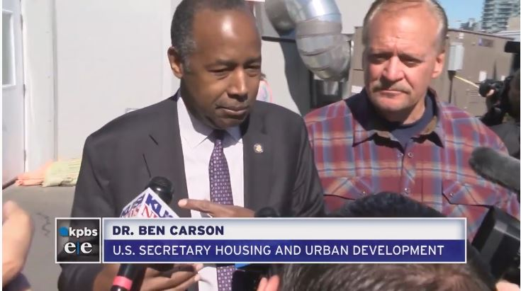 Homelessness is a national crisis - US secretary Housing and Urban Development