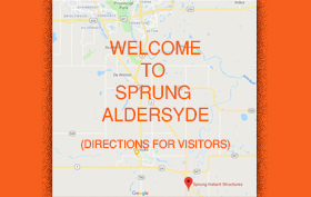 link to directions to Sprung in Alberta