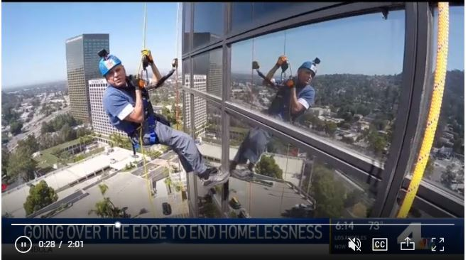 Going over the edge to end homelessness!