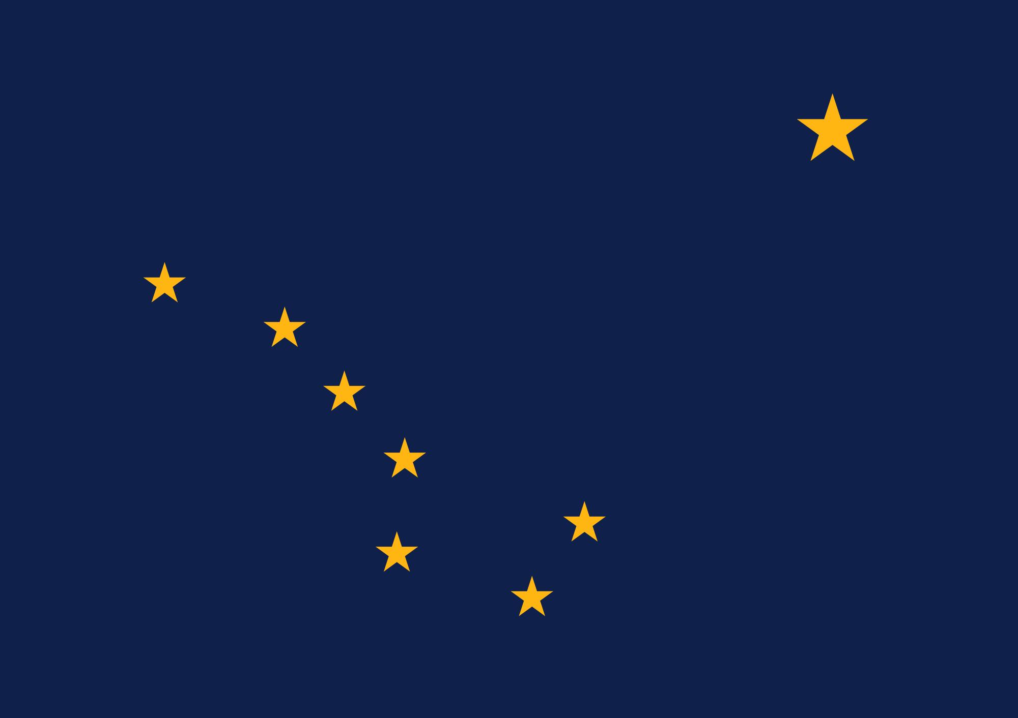 Flag of Aleutian Islands