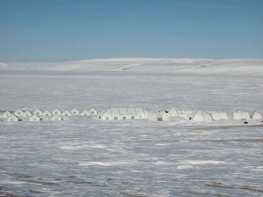 Arctic Watch Sprung Structures
