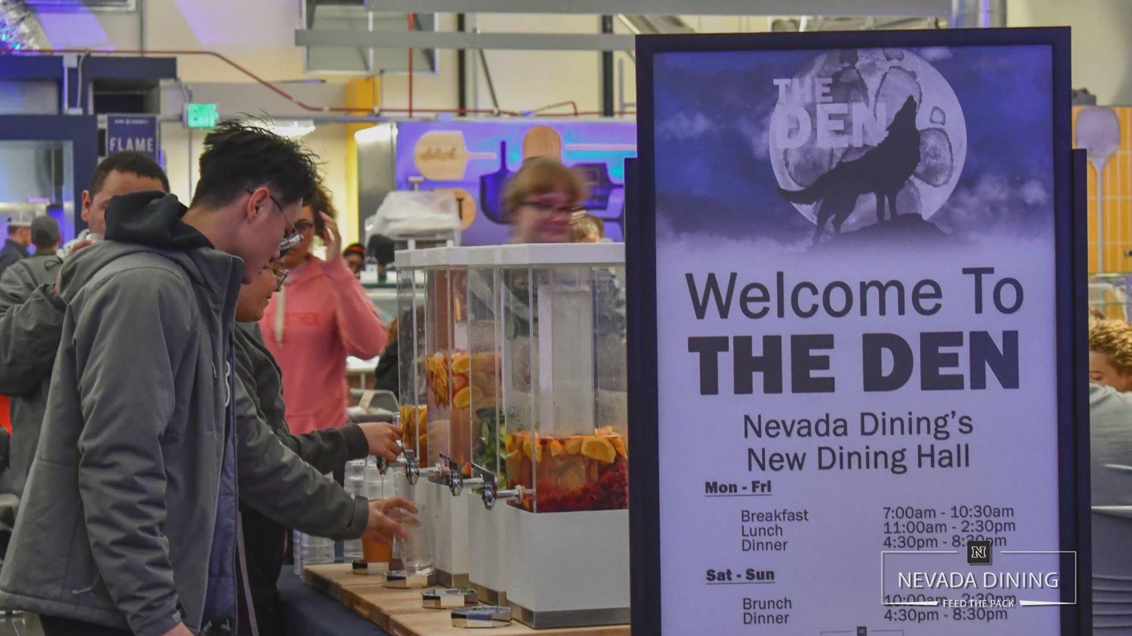University of Nevada Interim Dining Sprung Structure