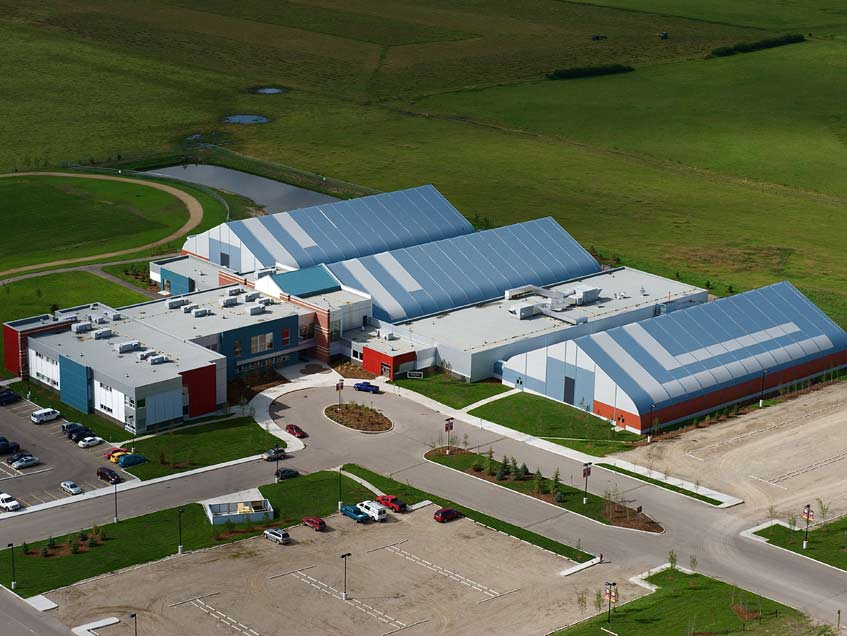 Edge School ice arena and gymnasium