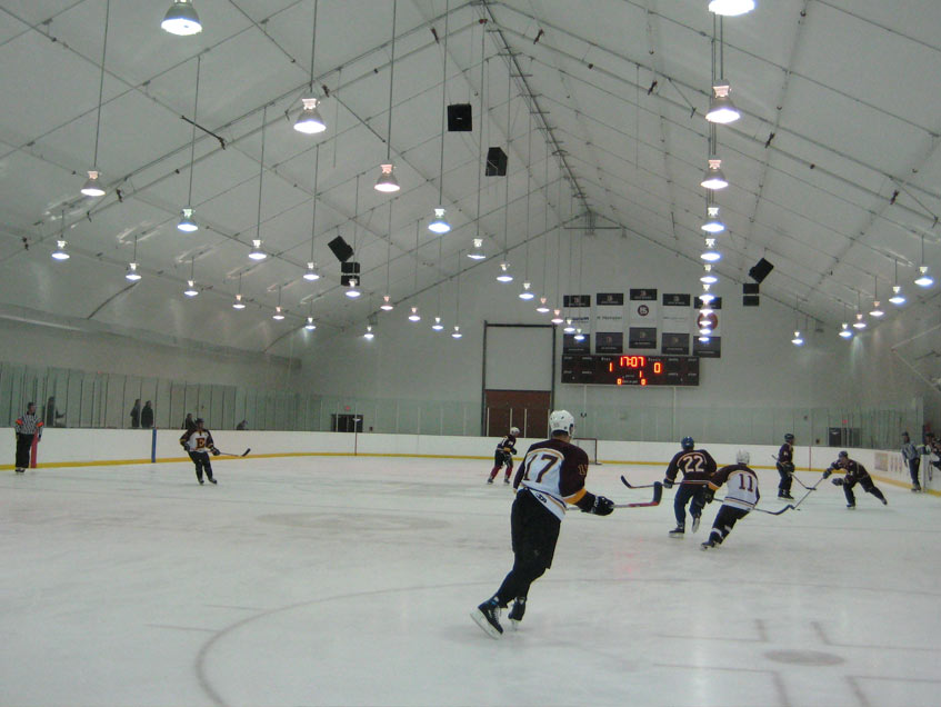 Edge School ice arena one of two