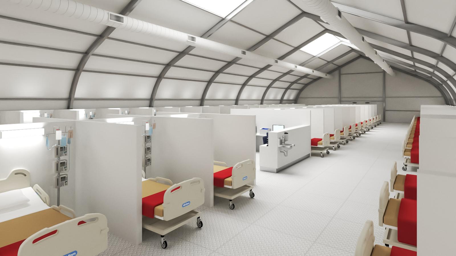 Temporary structure - interim hospital facilities