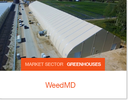 WeedMD processing prefab facility