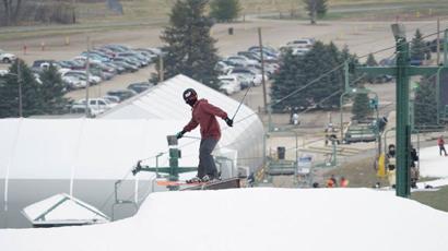 Ski Resort Sprung temporary building Mad River Mountain