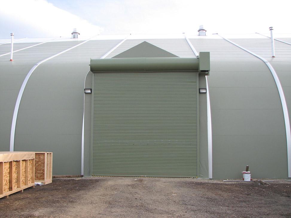 Rolling Service Door & Cargo Doors - Building Components - Sprung Structures » Sprung ...