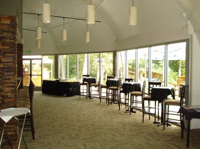 Glazing Wall at Keystone from interior Sprung Glass Walls