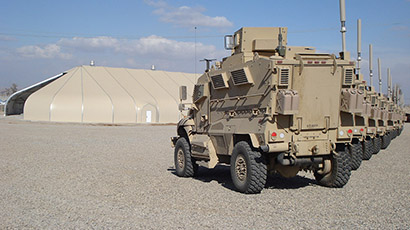 MRAP Vehicle Maintenance Facility