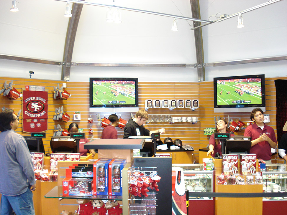 size 40 b1617 884a1 San Francisco 49ers Team Store Expansion - Sprung Structures