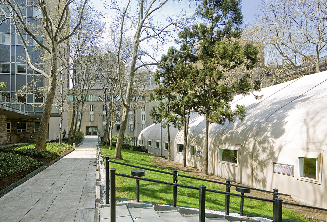 Rockefeller University Research Facility Sprung Structures
