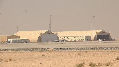 Helicopter Hangars at Al Maktoum International Airport