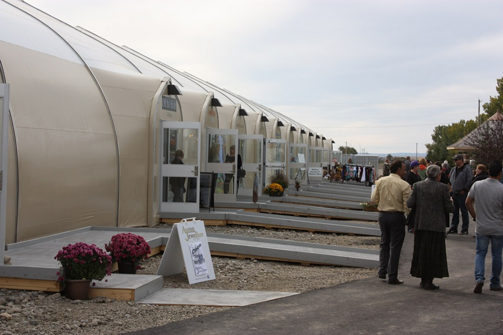 Temporary Housing Facility in High River