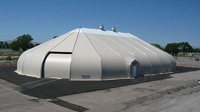 Nevada Department of Transportation Salt Storage
