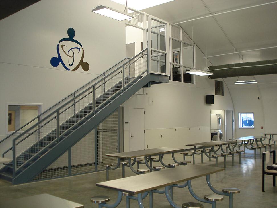 El Paso Community Detoxification Facility Sprung Structures