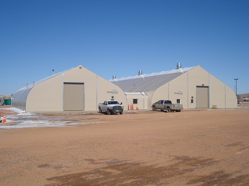 Portable Warehouse Building, Temporary Storage Shelter - Sprung on