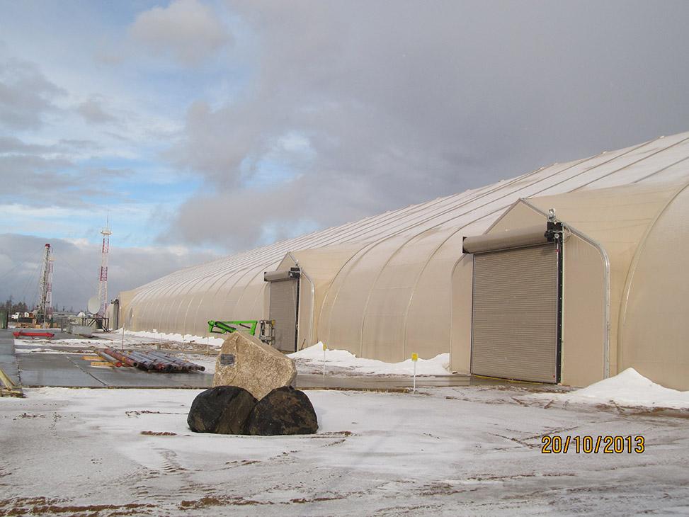 Manufacturing Facilities, Equipment Enclosures - Sprung